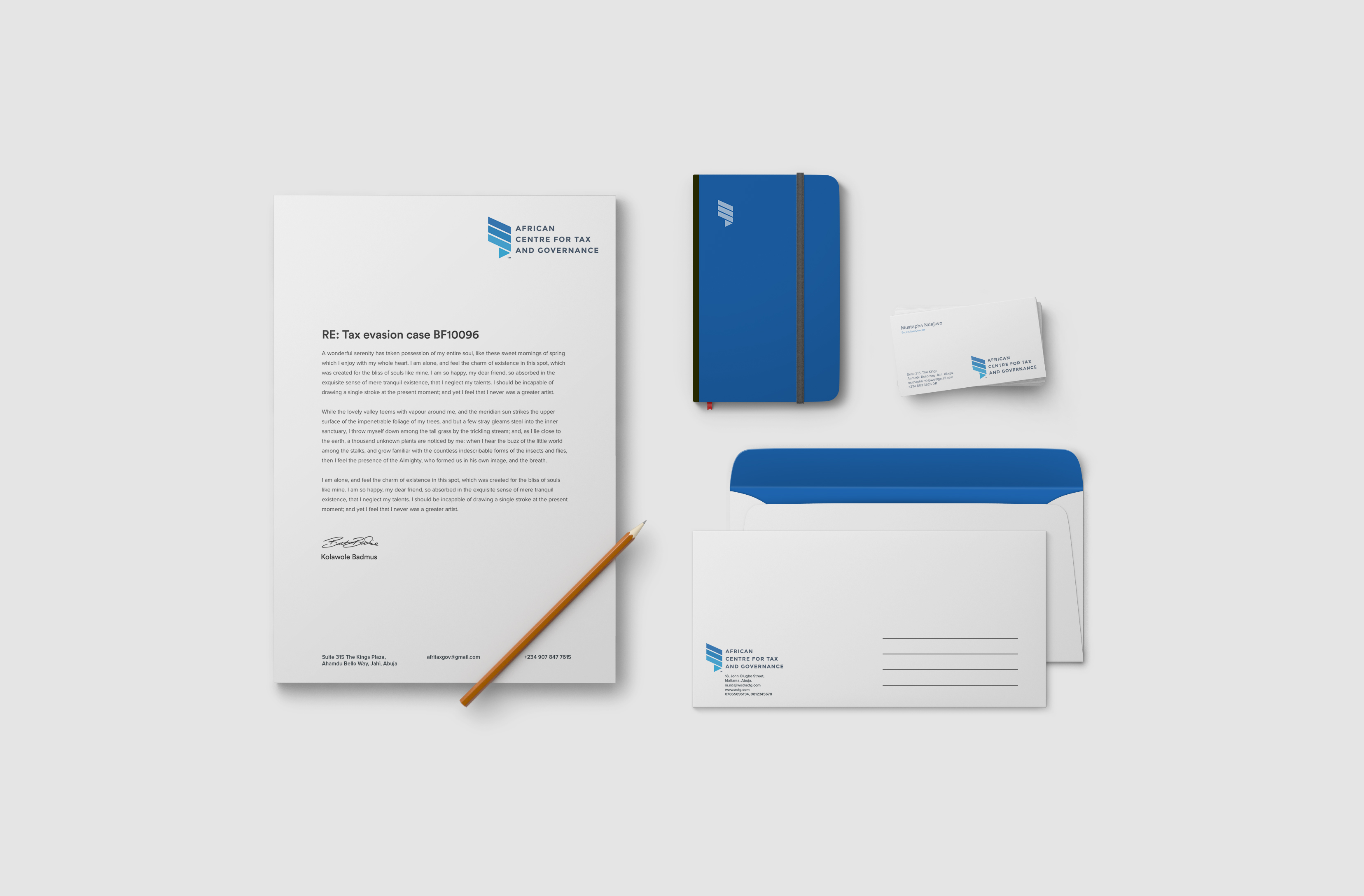 ACTG Stationery